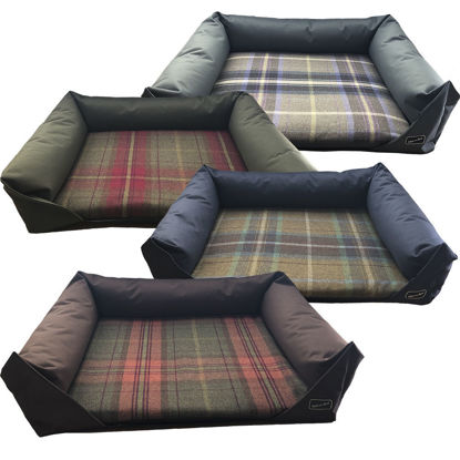 Picture of Luxury Country Check Sofa Bed