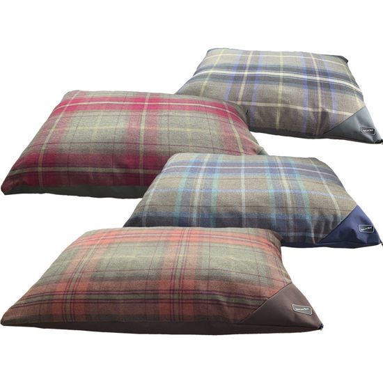 Picture of Luxury Country Check Duvet Bed