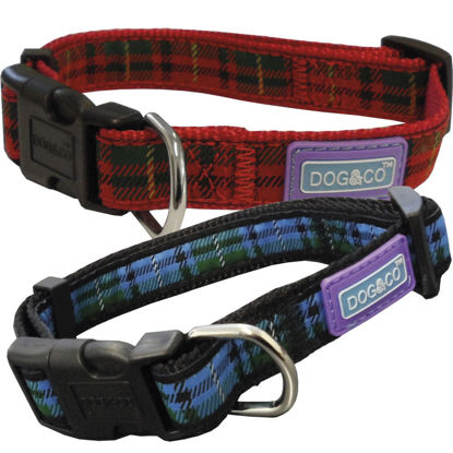 Picture of Tartan Dog Collar